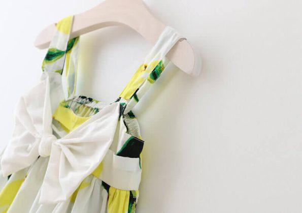 vestido de limones para nina