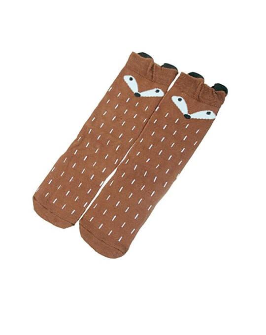 calcetines fox marrones