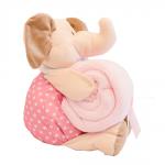 mantita elefante rosa