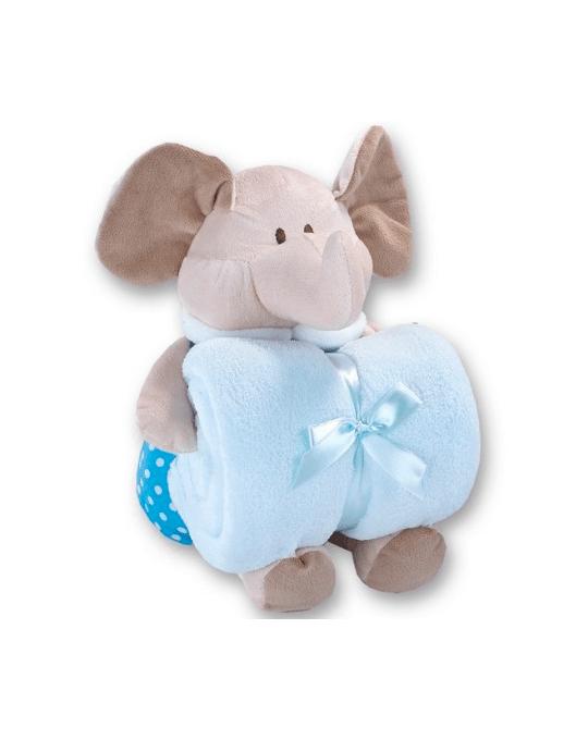 mantita elefante azul
