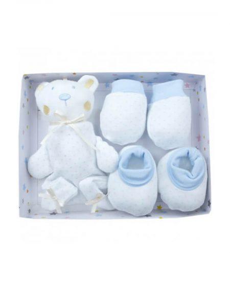 recién nacido pack regalo azul