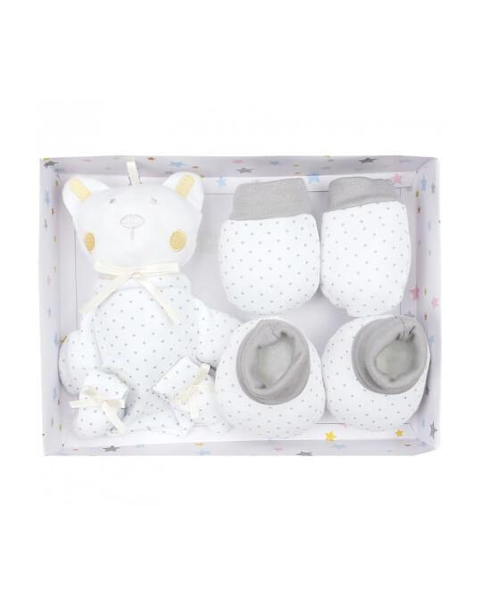 recién nacido pack regalo gris