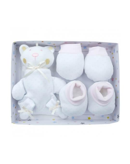 recién nacido pack regalo rosa