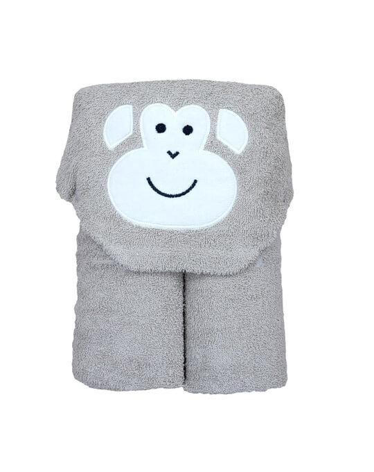 capa de bano mono