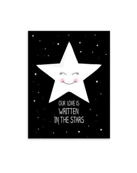 lámina estrella