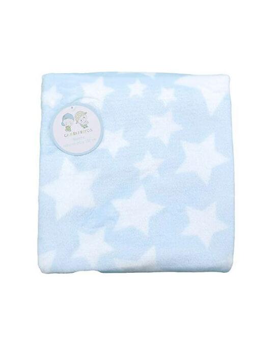 manta coralina azul de estrellas