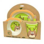 vajilla-infantil–5-piezas-reno-verde