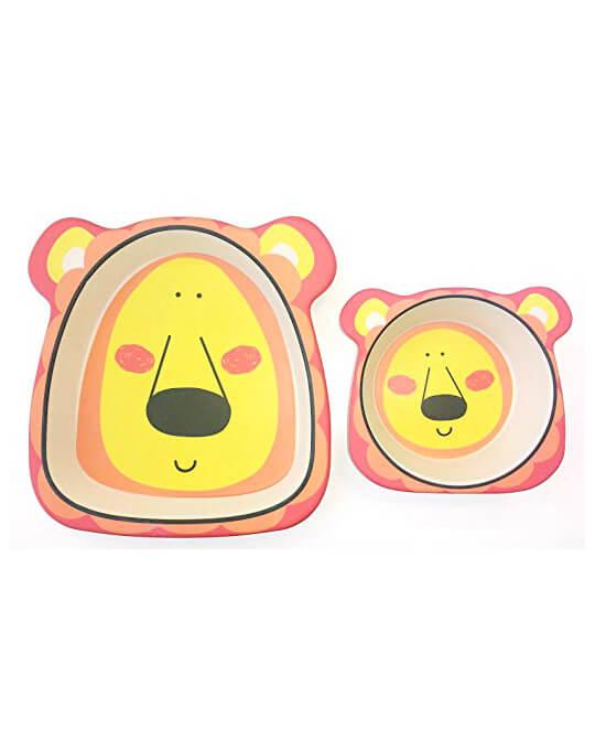 vajilla-infantil–platos-leon