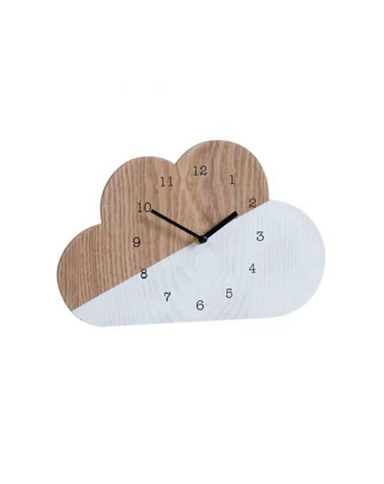 Reloj de pared nube