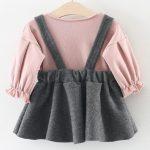 vestido para bebé niña