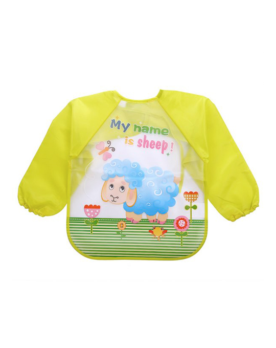 camisa babero bebe