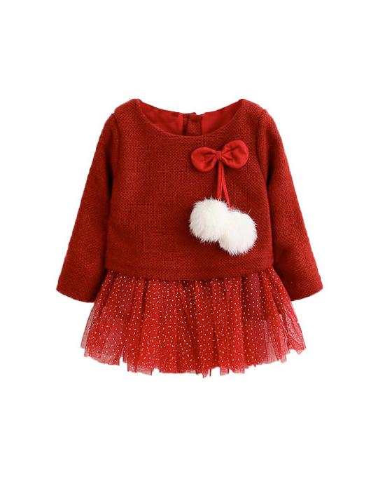 vestido para niñas de 0 a 24 meses