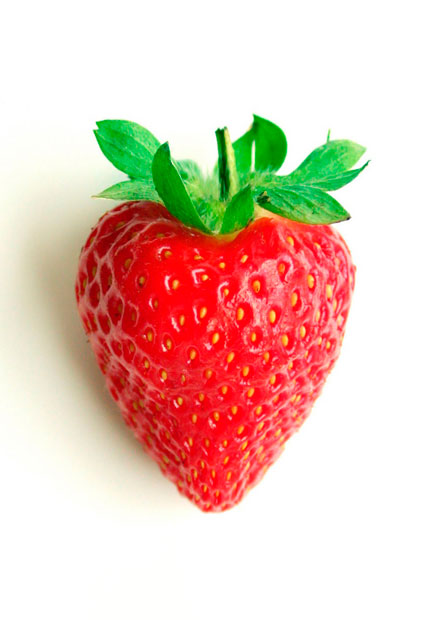 brochetas de fresas